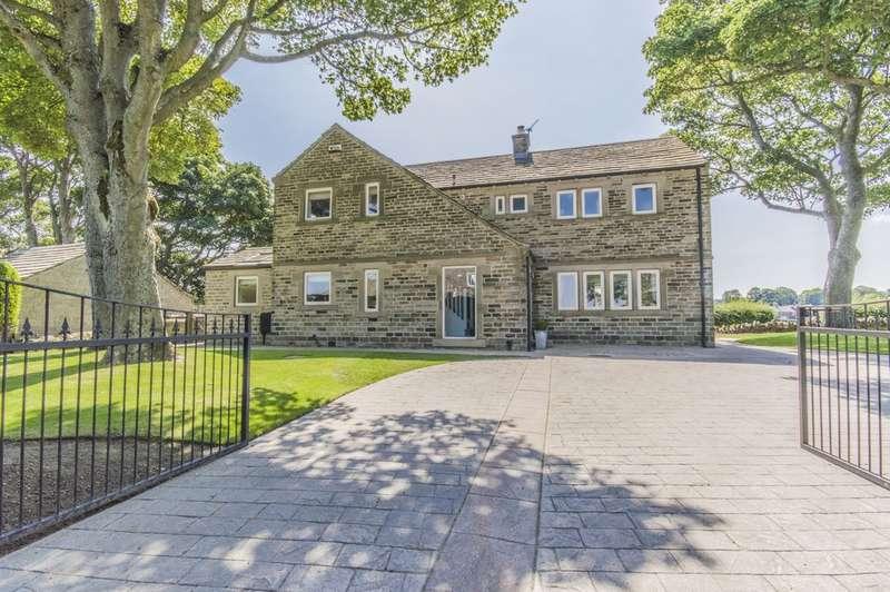 4 Bedrooms Detached House for sale in Balk Lane, Upper Cumberworth, Huddersfield