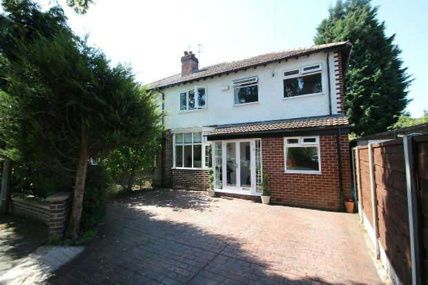 4 Bedrooms Semi Detached House for sale in Campbell Road, Sale