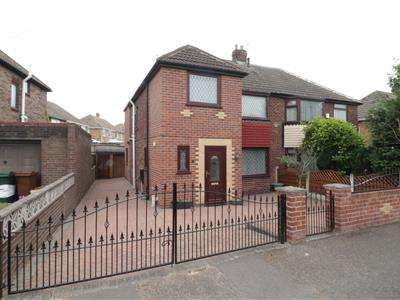 4 Bedrooms Semi Detached House for sale in Clayton Drive, Thurnscoe, Rotherham