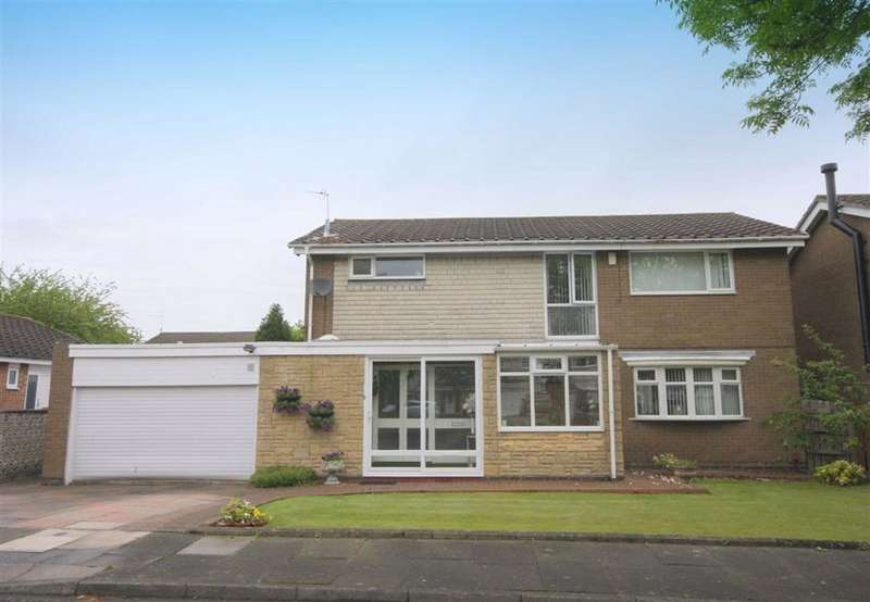 4 Bedrooms Detached House for sale in Dachet Road, Whitley Bay, Tyne And Wear, NE25