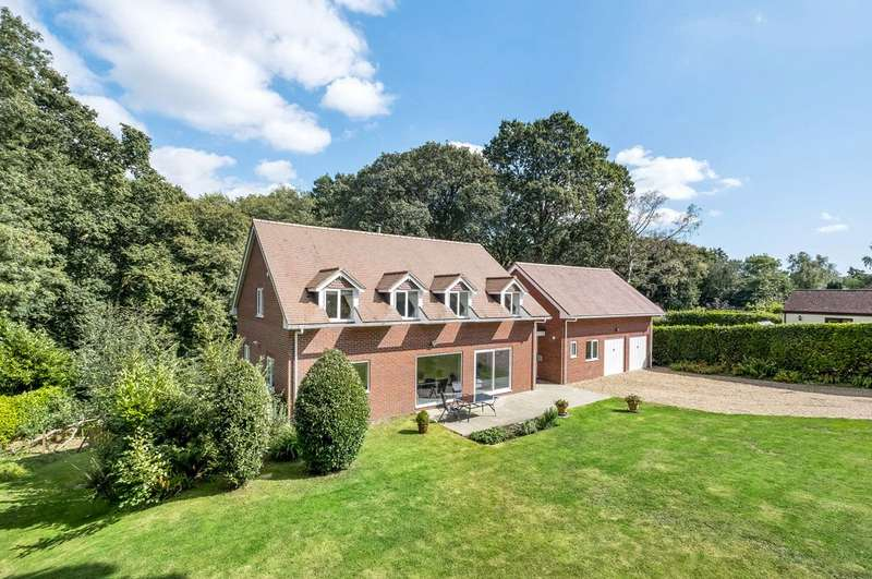 5 Bedrooms Detached House for sale in Green Hill Lane, Rownhams, Southampton, Hampshire, SO16