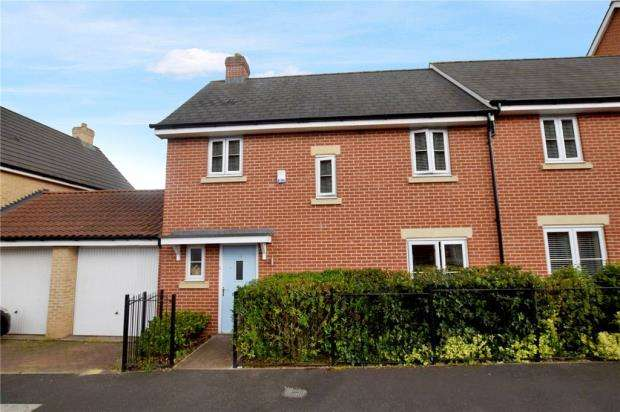 3 Bedrooms Semi Detached House for sale in Saw Mill Road, Colchester, Essex