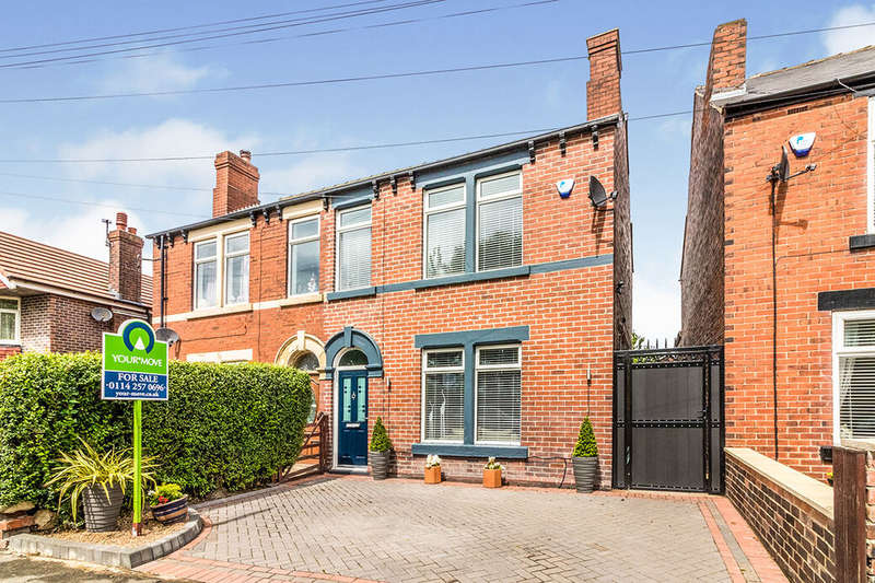 3 Bedrooms Semi Detached House for sale in Upper Wortley Road, Thorpe Hesley, S61