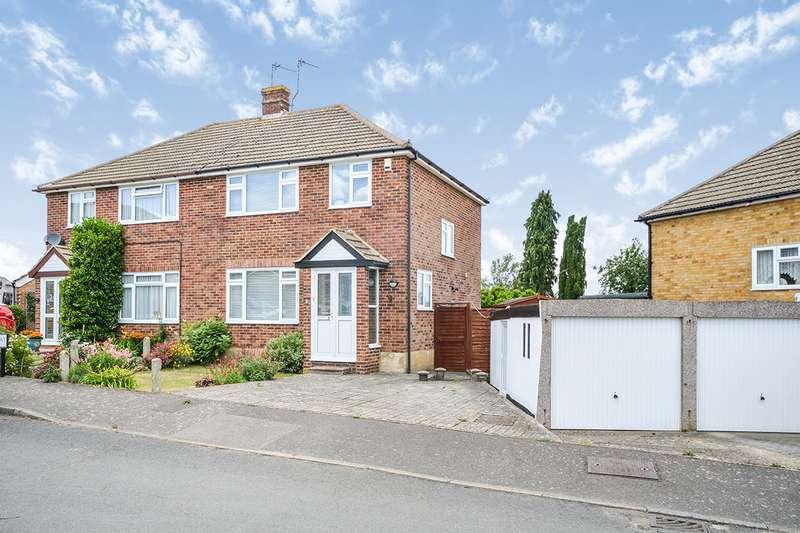 3 Bedrooms Semi Detached House for sale in Springett Way, Coxheath, Maidstone, Kent, ME17