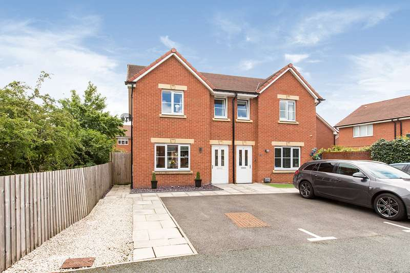 3 Bedrooms Semi Detached House for sale in Herdwick Place, Middlewich, Cheshire, CW10