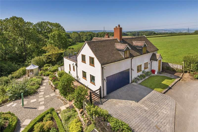 5 Bedrooms Detached House for sale in Spring Cottage, Spout Lane, Leighton, Shrewsbury, Shropshire, SY5