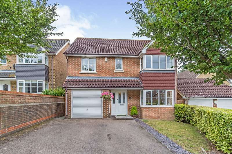 4 Bedrooms Detached House for sale in Guinness Drive, Wainscott, Rochester, ME3