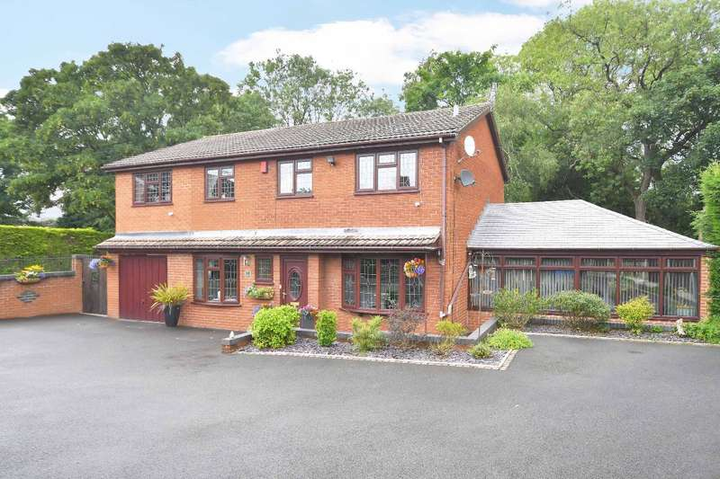 4 Bedrooms Detached House for sale in Goms Mill Road, Blurton, ST3 4BP