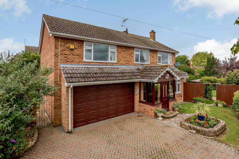 5 Bedrooms Detached House for sale in St. Marys Road, Bozeat, Wellingborough, Northamptonshire