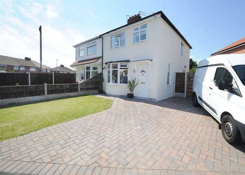 3 Bedrooms Semi Detached House for sale in 1 Gerrards Close, Irlam M44 6DX
