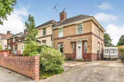 3 Bedrooms Semi Detached House for sale in Molineaux Road, Sheffield, South Yorkshire