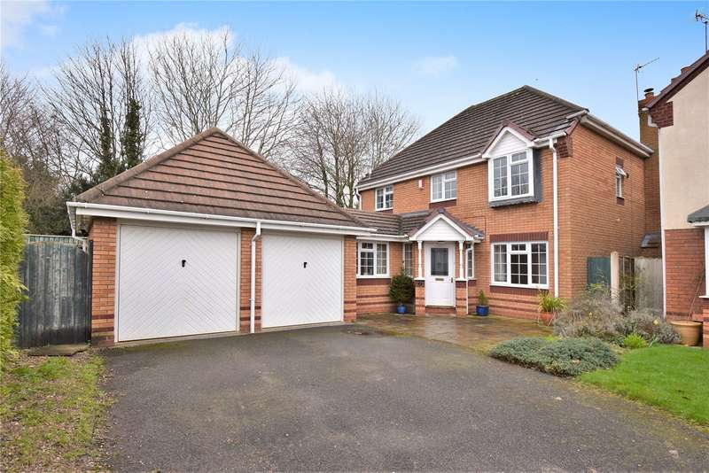 4 Bedrooms Detached House for sale in 9 Buckland Walk, Newport, Shropshire, TF10