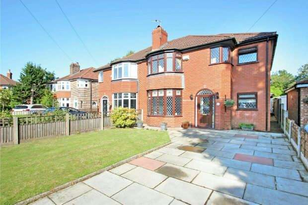 4 Bedrooms Semi Detached House for sale in Roselands Avenue, Sale