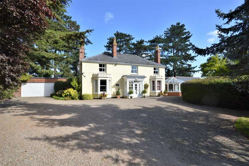 5 Bedrooms Detached House for sale in Stretton Sugwas, Hereford
