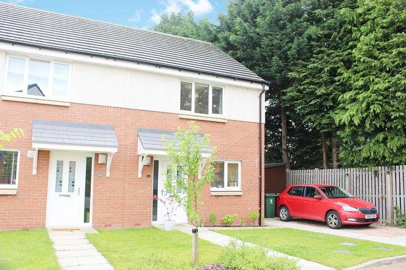 3 Bedrooms Semi Detached House for sale in Lorne Road, Larbert, FK5