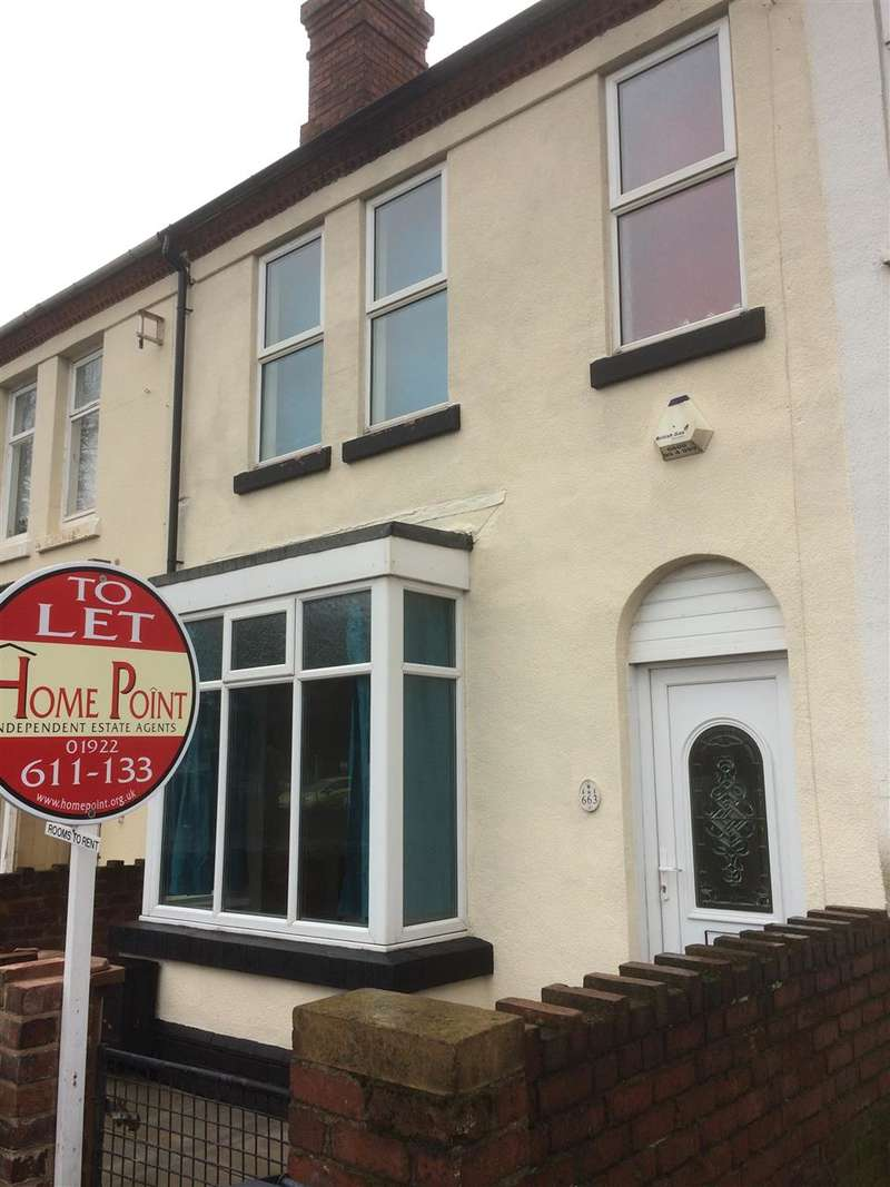 1 Bedroom House Share for rent in Bloxwich Road, Walsall