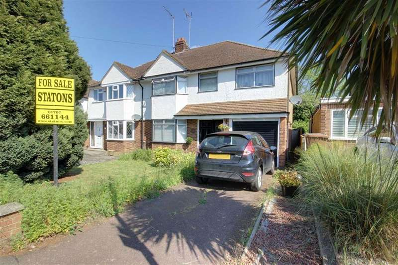 5 Bedrooms Semi Detached House for sale in Peplins Way, Brookmans Park, Hertfordshire