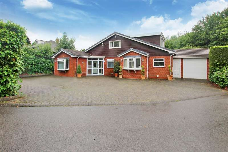 4 Bedrooms Bungalow for sale in Pikes Pool Lane, Alcester Road, Burcot, Bromsgrove, B60 1PP