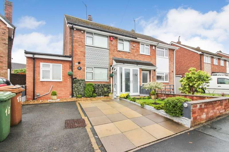 4 Bedrooms Semi Detached House for sale in Andrew Drive, Willenhall