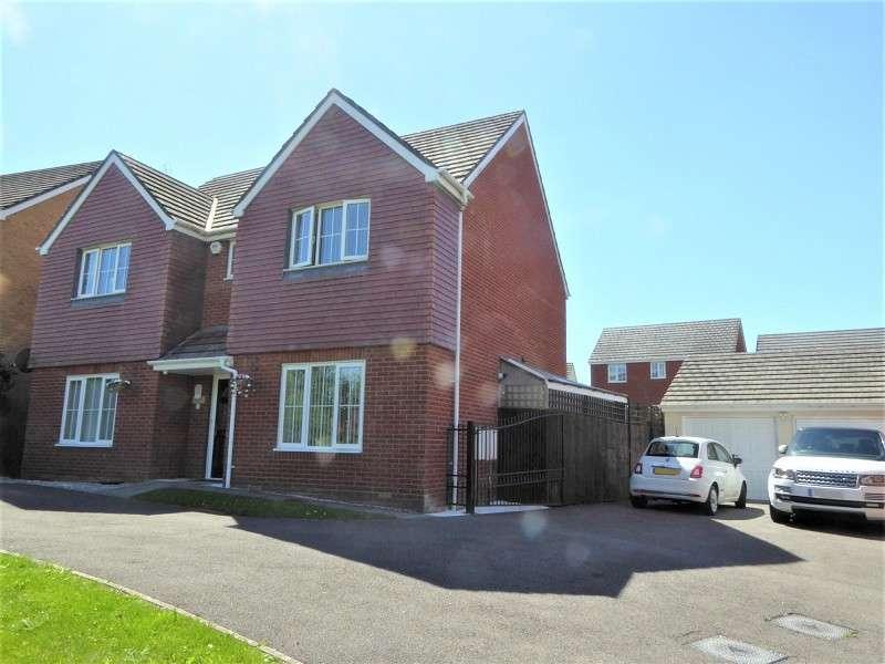 4 Bedrooms Detached House for sale in Heol-Y-Fronfraith Fawr, Bridgend, Bridgend County. CF31 5FR