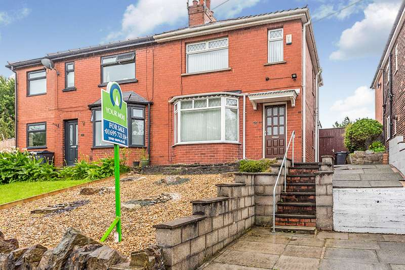 2 Bedrooms Semi Detached House for sale in Wigan Road, Skelmersdale, WN8