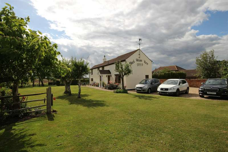 4 Bedrooms Detached House for sale in Huttoft Bank, Huttoft, Alford