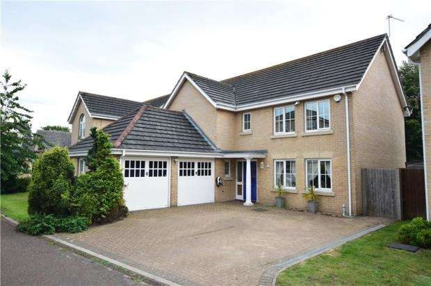 4 Bedrooms Detached House for sale in Badgerwood Close, Lowestoft, Suffolk