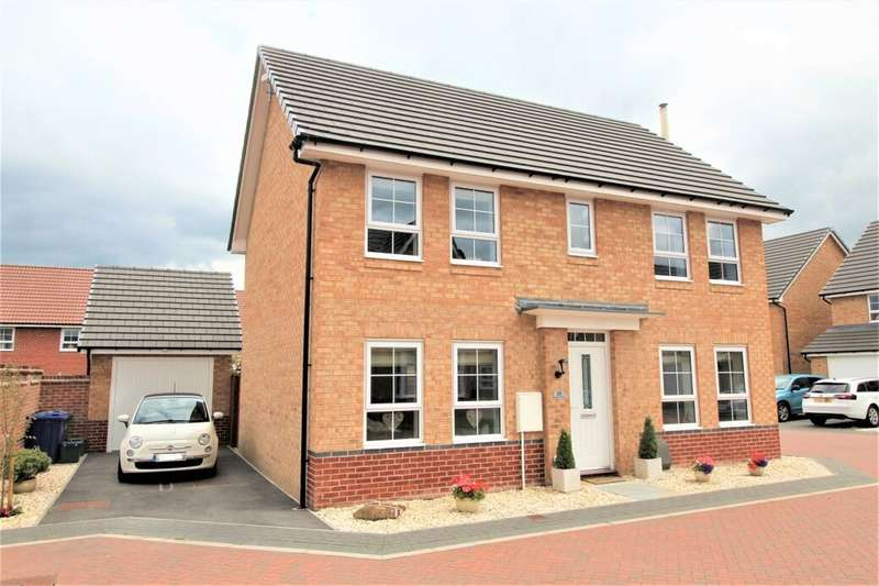 4 Bedrooms Detached House for sale in Whitmoore Drive, Auckley, Doncaster, DN9