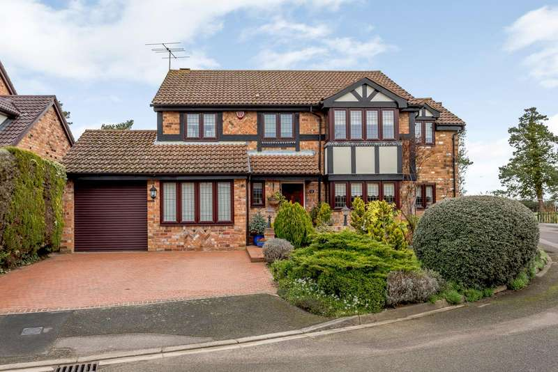 4 Bedrooms Detached House for sale in Sears Close, Shefford
