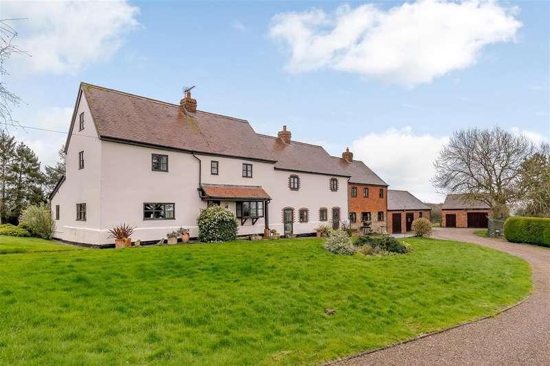 4 Bedrooms Detached House for sale in Bredenbury, Bromyard, Herefordshire