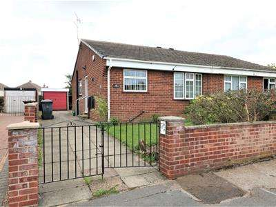 2 Bedrooms Semi Detached Bungalow for sale in Redgrave Place, Flanderwell, Rotherham