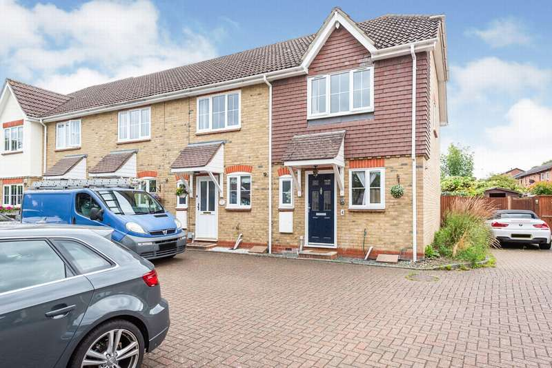 2 Bedrooms End Of Terrace House for rent in Clifton Gardens, Frimley Green, GU16