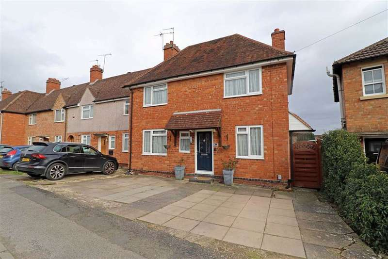 3 Bedrooms End Of Terrace House for sale in Newburgh Crescent, Warwick, CV34