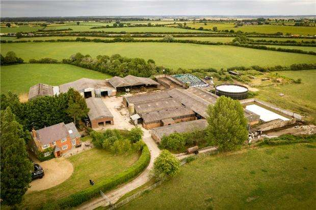 Land Commercial for sale in Woad Farm, Tathall End, Hanslope, Milton Keynes