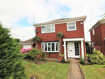 3 Bedrooms Detached House for sale in Mellwood Grove, Hemingfield, Barnsley