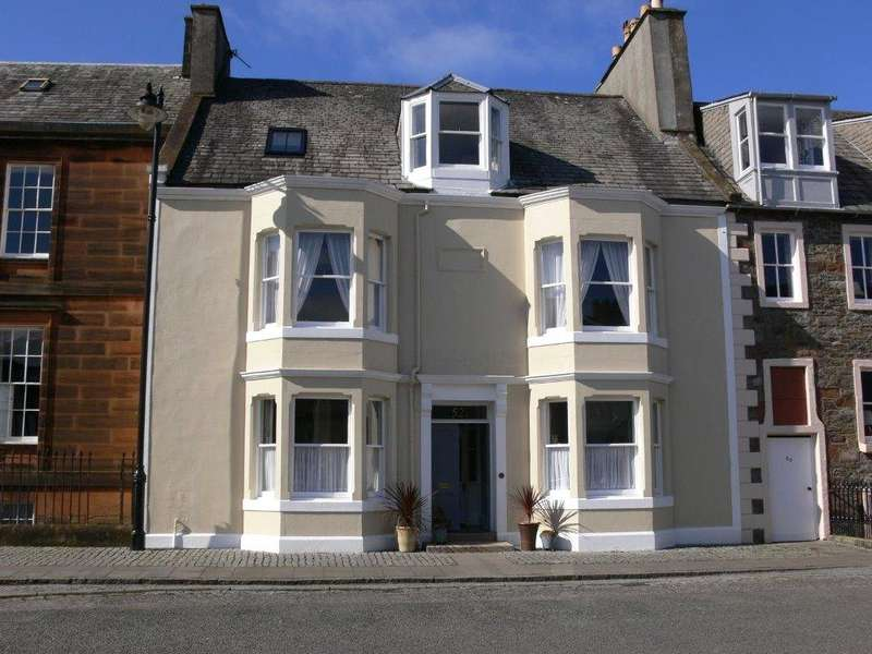 5 Bedrooms Terraced House for sale in 52 High Street, Kirkcudbright, Dumfries & Galloway, South West Scotland, DG6
