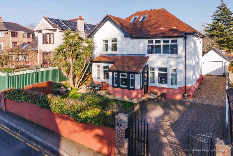4 Bedrooms Detached House for sale in Brynhafon House, 4 St Leonards Road, Bridgend, Bridgend County Borough, CF31 4HF