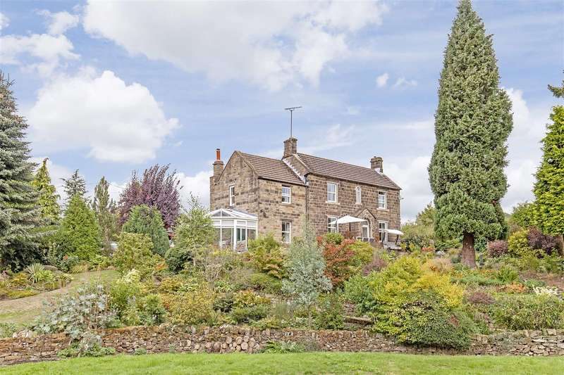 4 Bedrooms Detached House for sale in Hunt Lane, Milltown, Ashover, Chesterfield