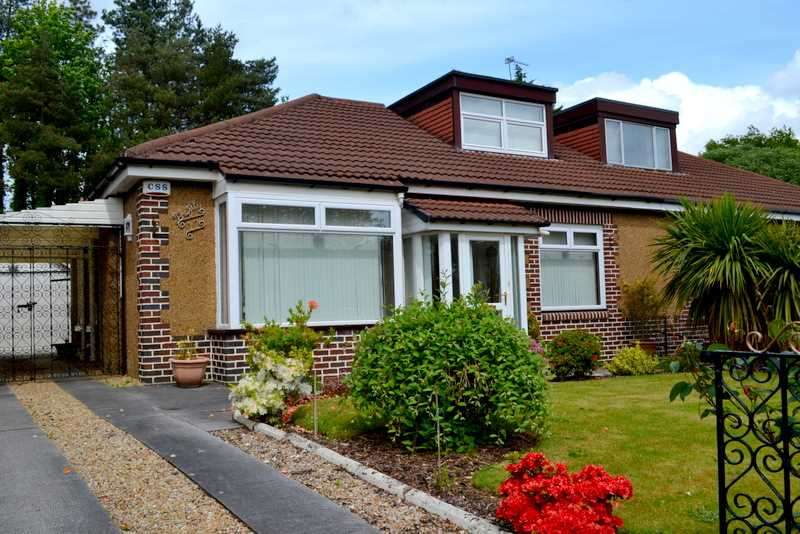 3 Bedrooms Semi Detached Bungalow for sale in Urrdale Road, Dumbreck, Glasgow
