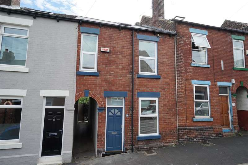 3 Bedrooms Terraced House for sale in Osberton Place, Sheffield, S11 8XL