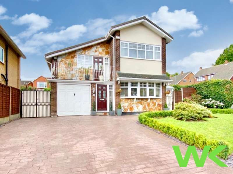 3 Bedrooms Detached House for sale in Cottesmore Close, West Bromwich, B71