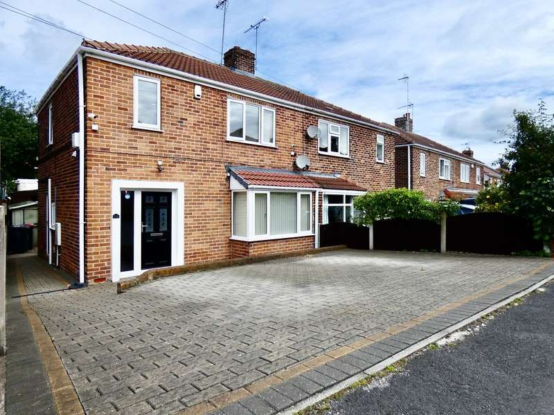 3 Bedrooms Semi Detached House for sale in Larch Avenue, Wickersley, South Yorkshire, S66