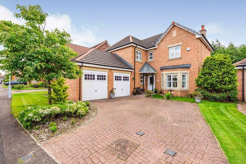 4 Bedrooms Detached House for sale in Plover Crescent, Dunfermline, KY11