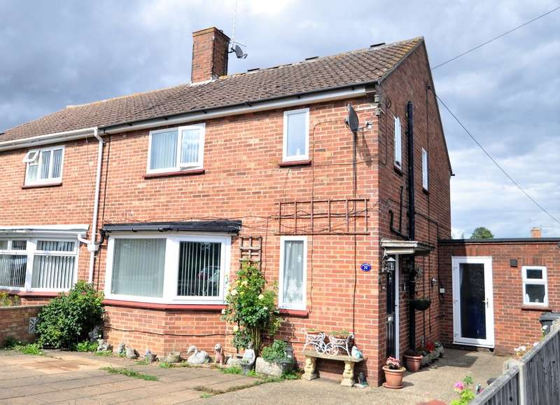 4 Bedrooms Semi Detached House for sale in Bedingfield Crescent, Halesworth