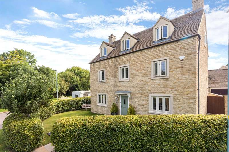 5 Bedrooms Detached House for sale in The Wern, Lechlade, Gloucestershire, GL7