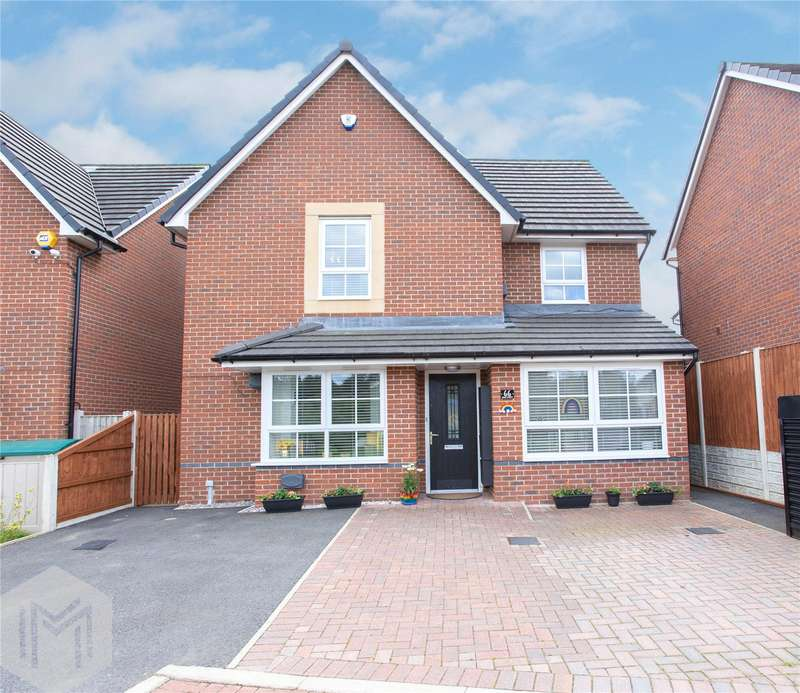 4 Bedrooms Detached House for sale in Adam Street, Heywood, Greater Manchester, OL10