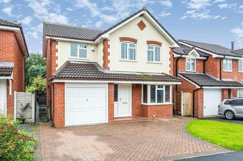4 Bedrooms Detached House for sale in Springwood Close, Walton-le-Dale, Preston, PR5