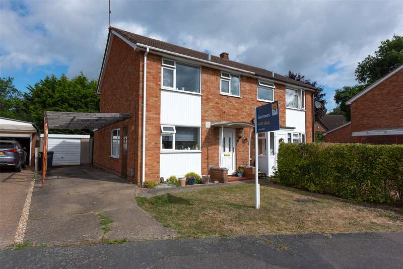 3 Bedrooms Semi Detached House for sale in Robins Bow, Camberley, Surrey, GU15
