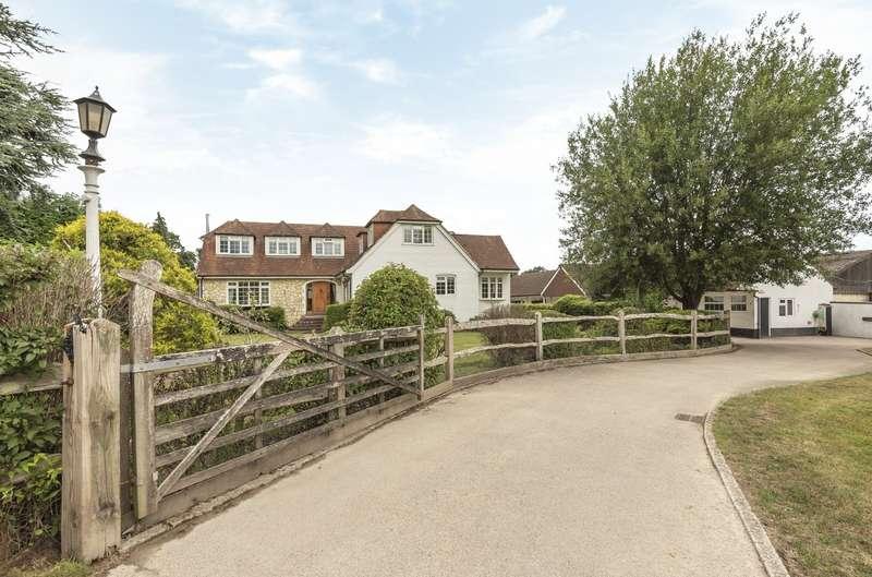 4 Bedrooms Detached House for sale in Fryern Park, Fryern Road, Storrington, RH20