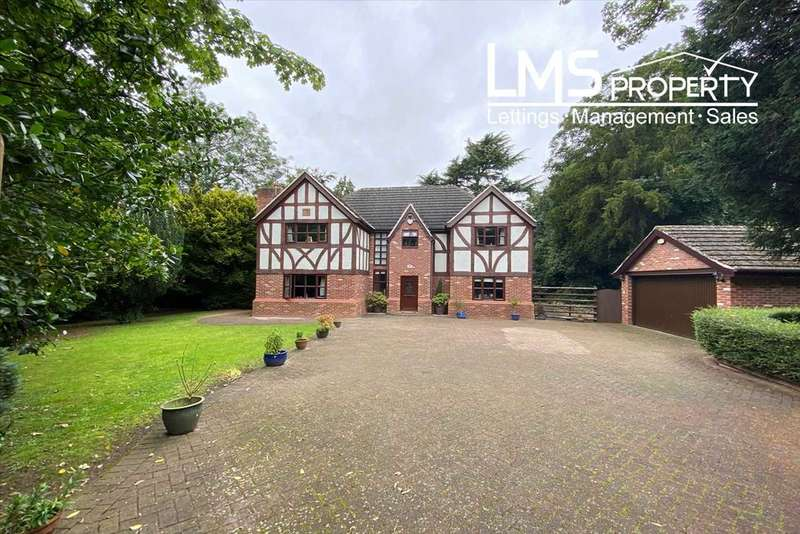 4 Bedrooms Detached House for sale in Tudor Rose, 52 The Loont, Winsford